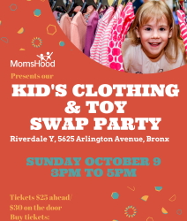 Kid's Clothing & Toy Swap Party in Riverdale
