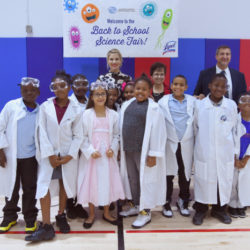 Lysol Back to School Science Fair in the Bronx