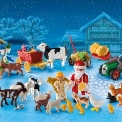 Countdown to Christmas with PLAYMOBIL's Christmas on the Farm Advent Calendar
