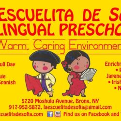 Registration Now Open for 2's and 3's at Escuelita de Sofia Bilingual Preschool