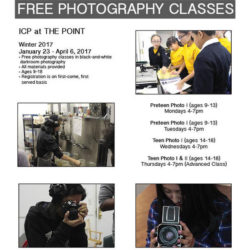 Free Photography Classes at The Point CDC