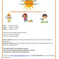 Registration Open for Bilingual Summer Camp Program