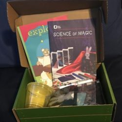 Checking out Kiwi Crate: Science of Magic Box