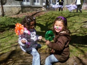 Family Art Project: Leaf Crowns and Fairy Houses @ Wave Hill House (in Wave Hill)