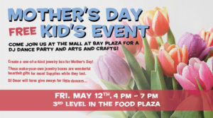 Free Mother's Day Kid's Event