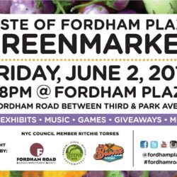 Taste of Fordham Plaza Greenmarket