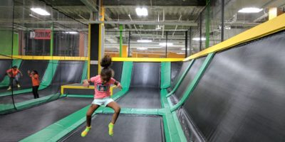 Indoor Fun at Ridge Hill's Rockin Jump Trampoline Park