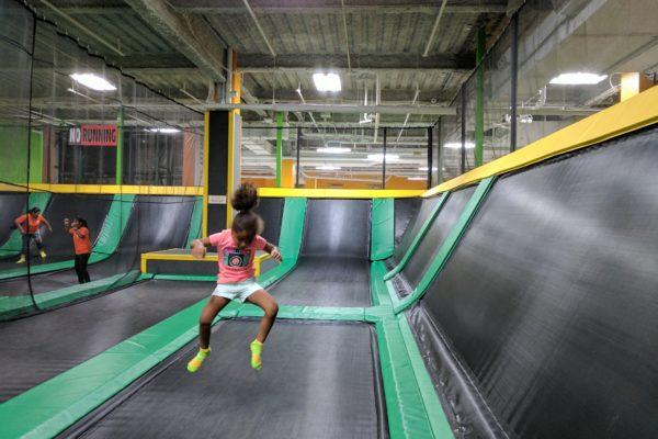 Indoor Fun at Ridge Hill's Rockin Jump Trampoline Park