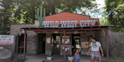 Visiting Wild West City in New Jersey