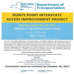 Hunts Point Interstate Access Improvement Project