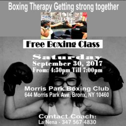 Free Boxing Class at Morris Park Boxing Club