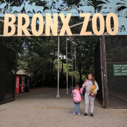 Family Camping at the Bronx Zoo