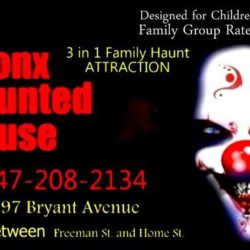 Bronx Haunted House + Free Show for Bronxmama Readers