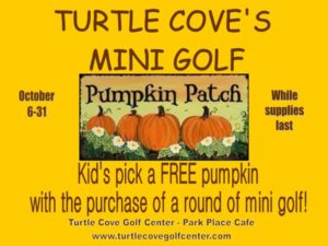 Mini Golf Pumpkin Patch