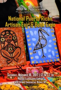 2017 CN National Puerto Rican Artisan Fair & Book Expo