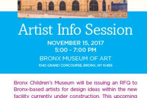 Bronx Children's Museum is Calling on Bronx Artists