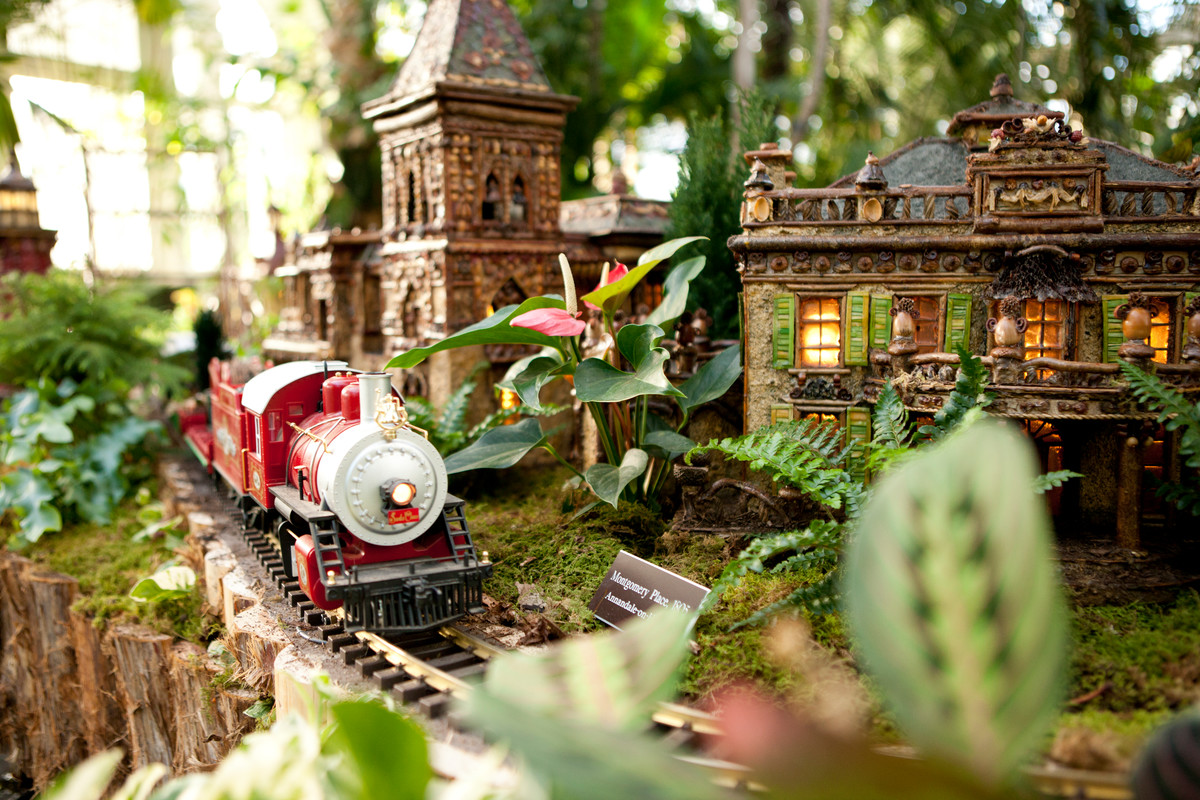 Itu0027s Not The Holidays In The Bronx Without The Holiday Train Show At The New  York Botanical Garden! And As Usual, We Are Excited To Be Able To Partner  With ...