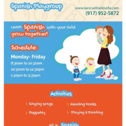Spanish Immersion School Offers Mommy & Me and After School Spanish Program