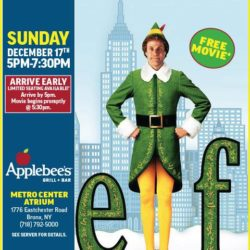 "Special ""Holiday Edition"" Family Dinner & A Movie Night with Elf"