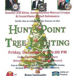 Hunts Point Tree Lighting