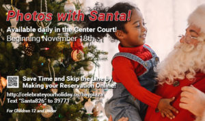 Photos with Santa at the Bay Plaza Mall