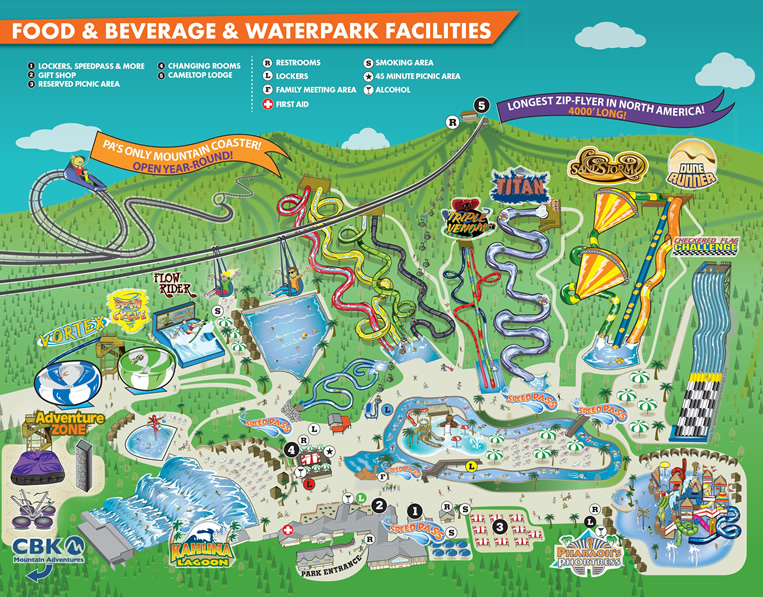 Family time in the Poconos Camelbeach Waterpark