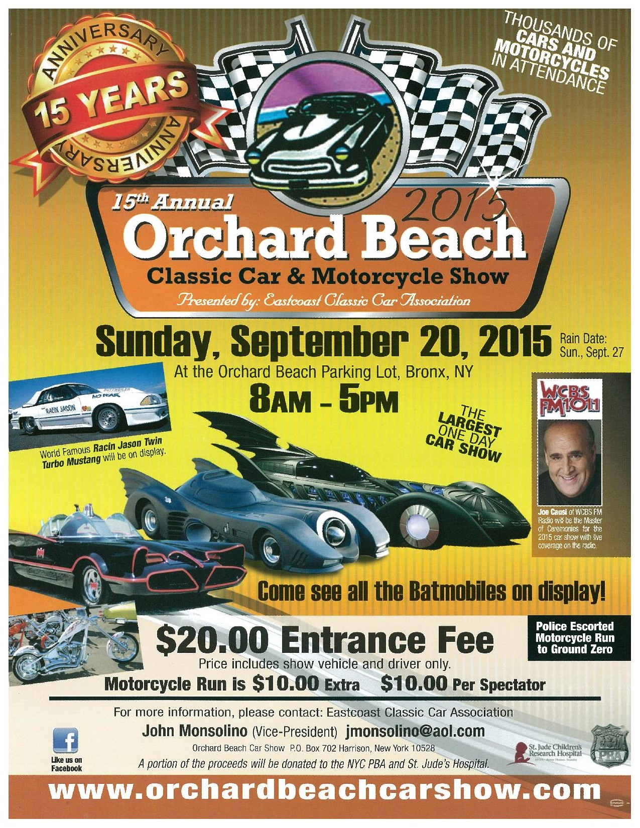 Orchard Beach Classic Car And Motorcycle Show - Classic car show nyc