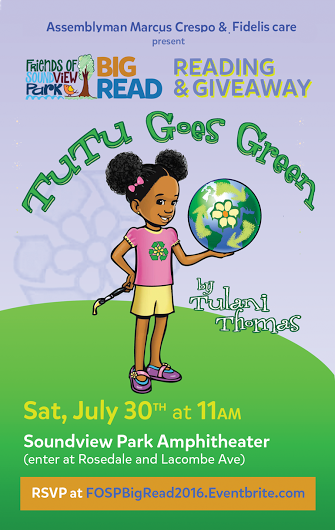 Tutu Goes Green: Reading & Giveaway