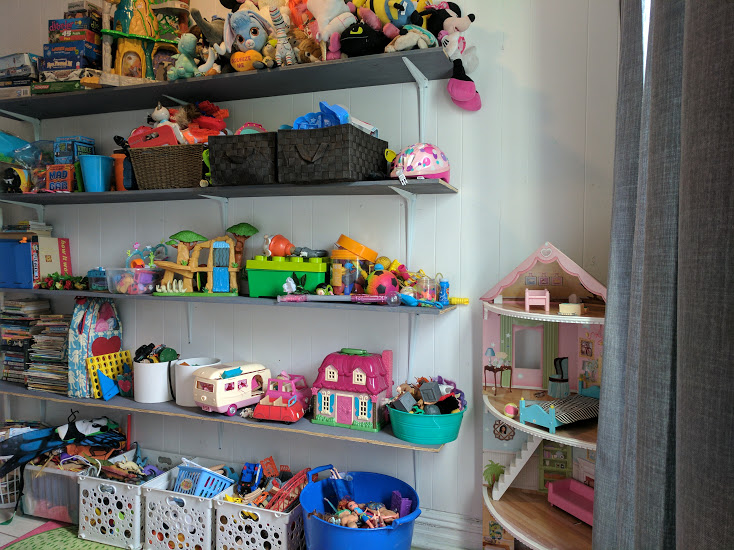 diy wall shelving for a small playroom bronxmama rh bronxmama com Playroom Storage Furniture Playroom Shelving Ideas