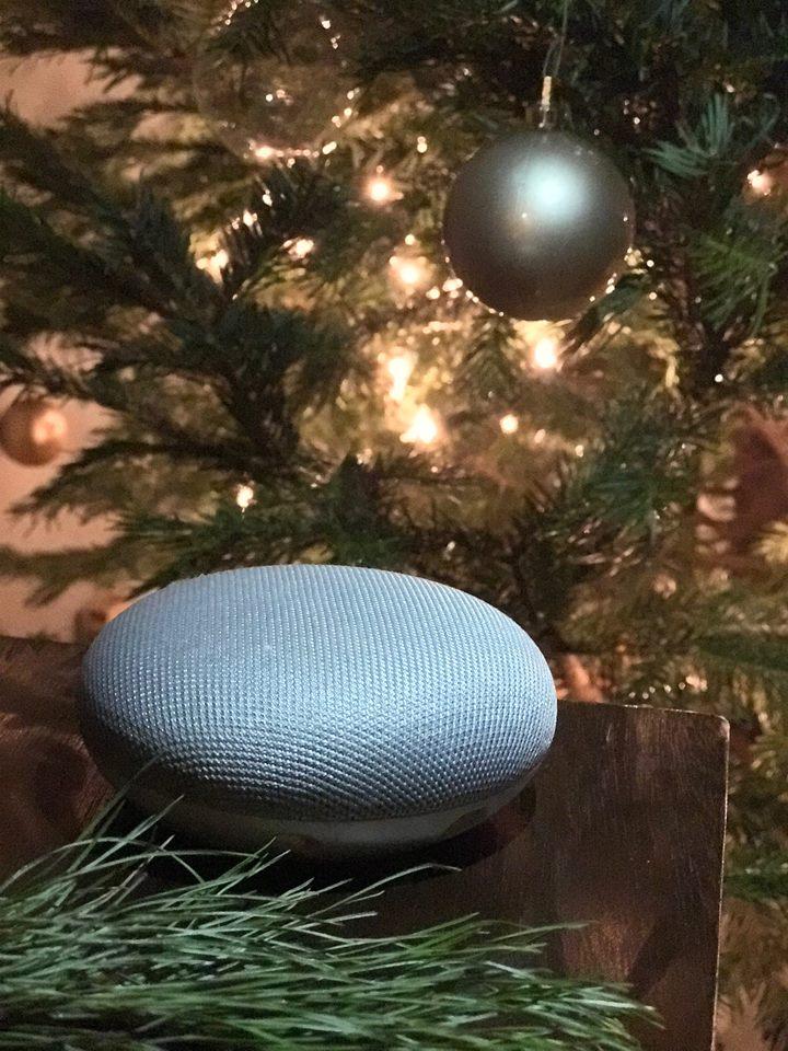 Google Home Mini for the Holidays   Bronxmama
