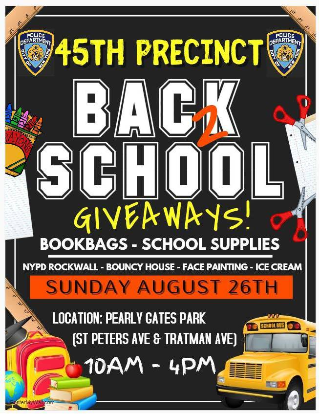 Back to school giveaways 2018
